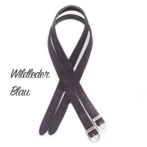 Wildleder Blau