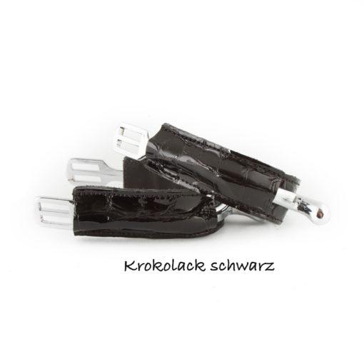 Krokolack Schwarz