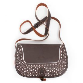 La Rienda- Tasche Fettleder braun-0